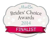 Mrs2b Brides Choice Awards Finalist