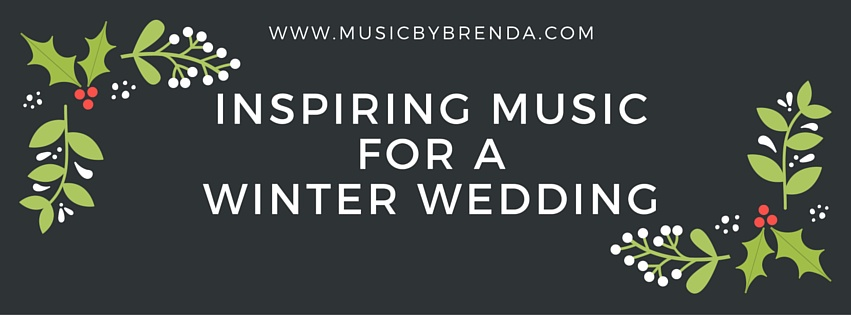 Inspiring Music For A Winter Wedding